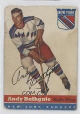 1954-55 Topps #11 Andy Bathgate New York Rangers Hockey Card