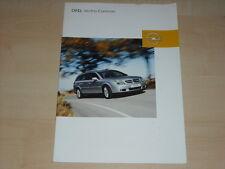 40580) Opel Vectra C Caravan Prospekt 08/2003