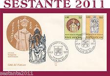 VATICANO FDC ALA 113 1971 MILLENNIO SANTO STEFANO (57)