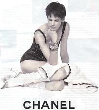 PUBLICITE ADVERTISING 2011 CHANEL vetements bijoux                        060412
