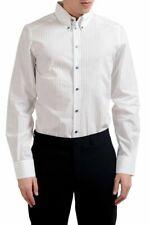 "Dolce & Gabbana ""Gold"" Men's Long Sleeve Striped Dress Shirt Size 15.75 18"