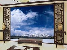 3D Mega Snow Mountains Scenery 418Wall Paper Wall Print Decal Wall AJ Wall Paper