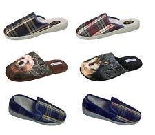 Herren Pantoffeln Hausschuhe Schlappen Latschen Gäste Schuhe  Puschen Gr.40-46
