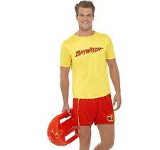 uomo con licenza ufficiale Baywatch spiaggia bagnino Costume #32868
