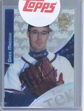 2014 2000TK-16-4 Greg Maddux (2000 Topps Tek Pattern 4) Atlanta Braves Auto Card