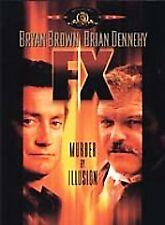 F/X DVD, Bryan Brown, Brian Dennehy, Diane Venora, Cliff De Young, Mason Adams,