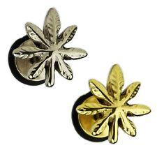 Hanf Cannabis Piercing Anhänger Ohrring Ohrpiercing Helix #649 Tragus Piercing