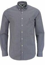 Detalles de Tommy Hilfiger Camiseta Polo Hombre Regular Fit Azul Marino 0867878433 403