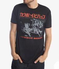 Anime COWBOY BEBOP KANJI T-Shirt NEW 100% Authentic