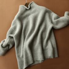 Femmes Pull Pull Cachemire Col Roulé Pull Sweatshirts Pull