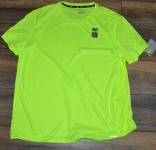 Tek Gear Performance Top Drytek Electric Yellow Men's Short Sleeve Shirt