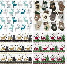 serviettes de table Noël de fête à motif 3 épaisseurs papier serviette