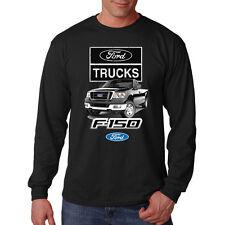 Ford Trucks F-150 Built Tough Drive One American Classic Long Sleeve T-Shirt Tee