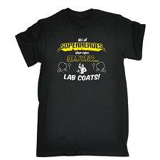Non tutti i supereroi indossare Mantelli Camice T-Shirt Tecnico Sci Regalo Di Compleanno