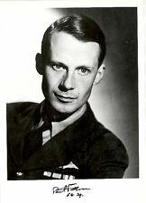 SPSF03A RAF WW2 WWII 64 Sqn Battle of Britain BoB pilot PATTEN hand signed photo