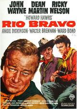 90852 RIO BRAVO MOVIE JOHN WAYNE THE DUKE Decor WALL PRINT POSTER CA
