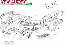 Explosionszeichnung Karosserie 84cm xdC140 Aufsitzmäher Mäher castelgarden