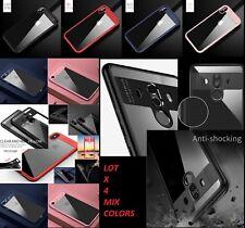 LOT 4 iphone X 8 plus SAMSUNG S9 Plus NOTE 8 Hybrid Auto Focus acrylic case TPU