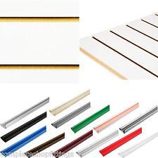 NEW WHITE SLATWALL PANEL BOARD SLAT SLOT WALL PANEL SHOPFITTING DISPLAY BOARD