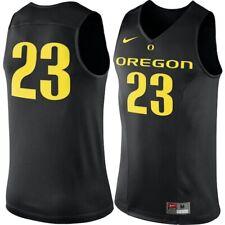 mens S/M/L/XL/XXL nike oregon ducks basketball #23 sewn authentic jersey $120