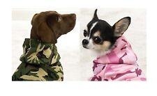 CAMO HOODIES for DOGS High Quality Camouflage Warm Dog Sweatshirts