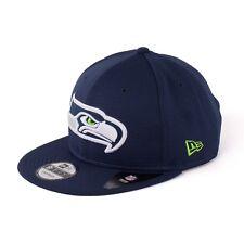 New Era Seattle Seahawks Team Maglia 9Fifty Berretto da baseball scuro blu 93891