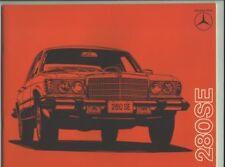 1976 Mercedes 280SE Sales Catalog