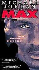 Vhs Tape Video Sports Baseketball Michael Jordan To The Max