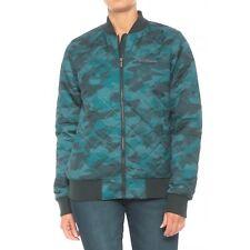 New Women`s Columbia Sportswear Hawlings Hill Printed Bomber Insul Jacket WL0093