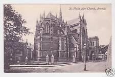 St Philip Neri Church - Arundel Photo Postcard c1910