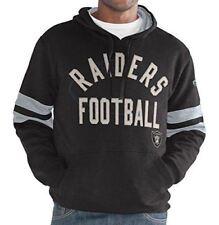 Oakland Raiders Hands High Men's Striker Pullover Hooded Fleece Sweatshirt
