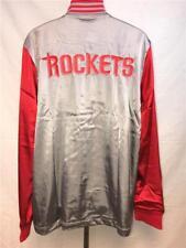 New Houston Rockets Mens L-XL-2XL-3XL +2 On Court 2nd Half Jacket $100