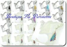 Sexy XL Ohrringe Masche Paris Ohrhaken Ohrhänger Viereckig Netz Quadrat Emaille