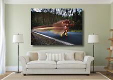 The Flash Super Hero Large Poster Wall Art Print - A0 A1 A2 A3 A4