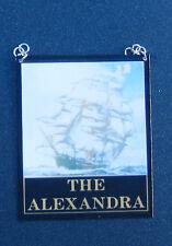 1:12 scala la ALEXANDRA PUB segno DOLLS HOUSE miniatura bar tavern Accessorio