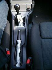 Se adapta a Astra Mk4 IV g Coupe Gear Freno De Mano Polaina Negro Gris Set