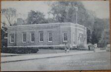 1935 Postcard: Us Post Office-Mechanicville Ny New York
