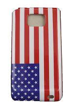 DECKELGEHÄUSE SAMSUNG GALAXY S2 KUNSTSTOFF USA-FLAGGE US VEREINIGT FLAG
