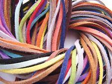 Velour Lederband Imitat 1-5m(0,79€/m) Wildleder Imitatband Choker Schmuckband