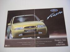 advertising Pubblicità 1996 FORD FIESTA