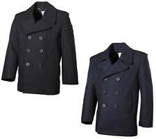 Caban Manteau marine veste court couleur peacoat pour hommes américaine d'hiver