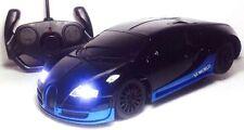 BUGATTI VERYON RADIO RADIO REMOTE CONTROL 1:18 FAST DRIFTING LED HEAD LIGHT CAR