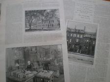 Il defunto Oliver Wendell Holmes 1894 stampe articoli