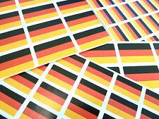 Germany Self-Stick Flag Labels Self-Adhesive German Flag Stickers