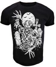 Zombie Rising GIANT PRINT T Shirt Mens gothic rock punk goth