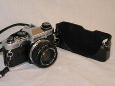 OLYMPUS OM 10 SLR CAMERA w/OLYMPUS 50mm F1.8 LENS