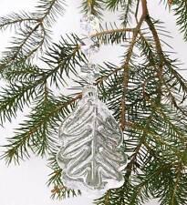 Handmade Crystal Leaf Decoration!