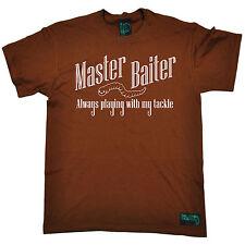 Master Baiter hombre ahogado gusanos Camiseta Camiseta Engranaje De Regalo De Cumpleaños Divertido De Pesca