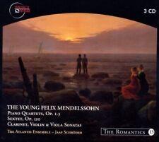 The Young Felix Mendelssohn: Piano Quartets, Op. 1-3; Sextet, Op. 110; Clarinet,