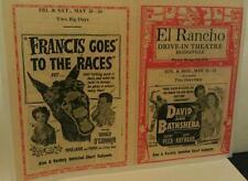 1950 Bridgeville Pa. El Rancho Drive-In Movie Theatre Pittsburgh Poster